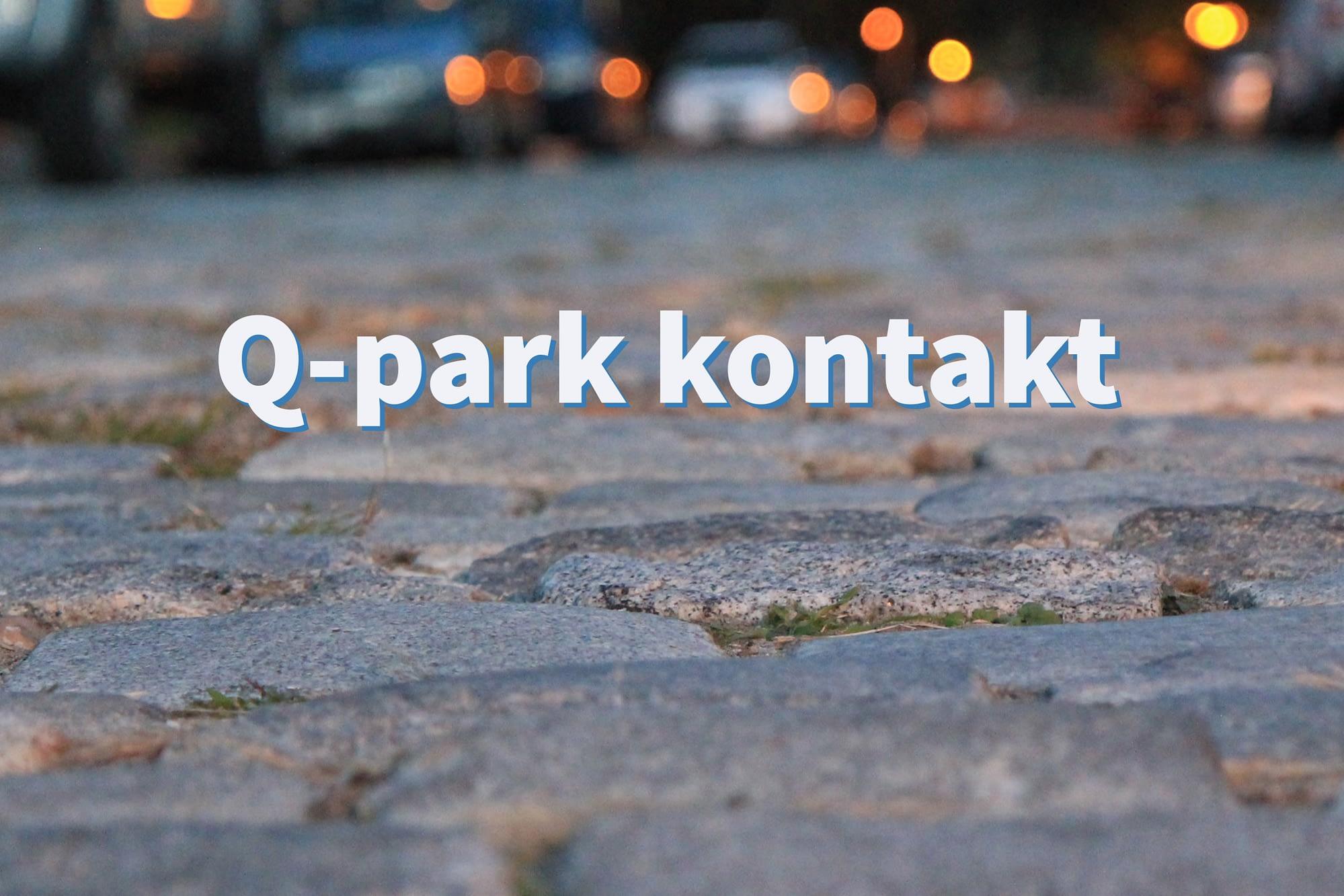 Q-park kontakt